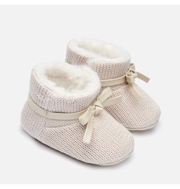 Mayoral Mayoral | Knit Infant Boots in Beige