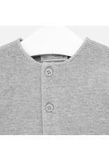 Mayoral Mayoral | Garter Stitch Cardigan in Grey