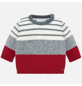 Mayoral Mayoral | Modern Stripe Baby Sweater