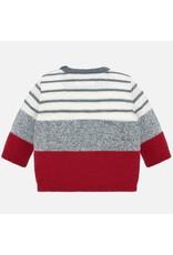 Mayoral Mayoral | Modern Stripe Baby Sweater