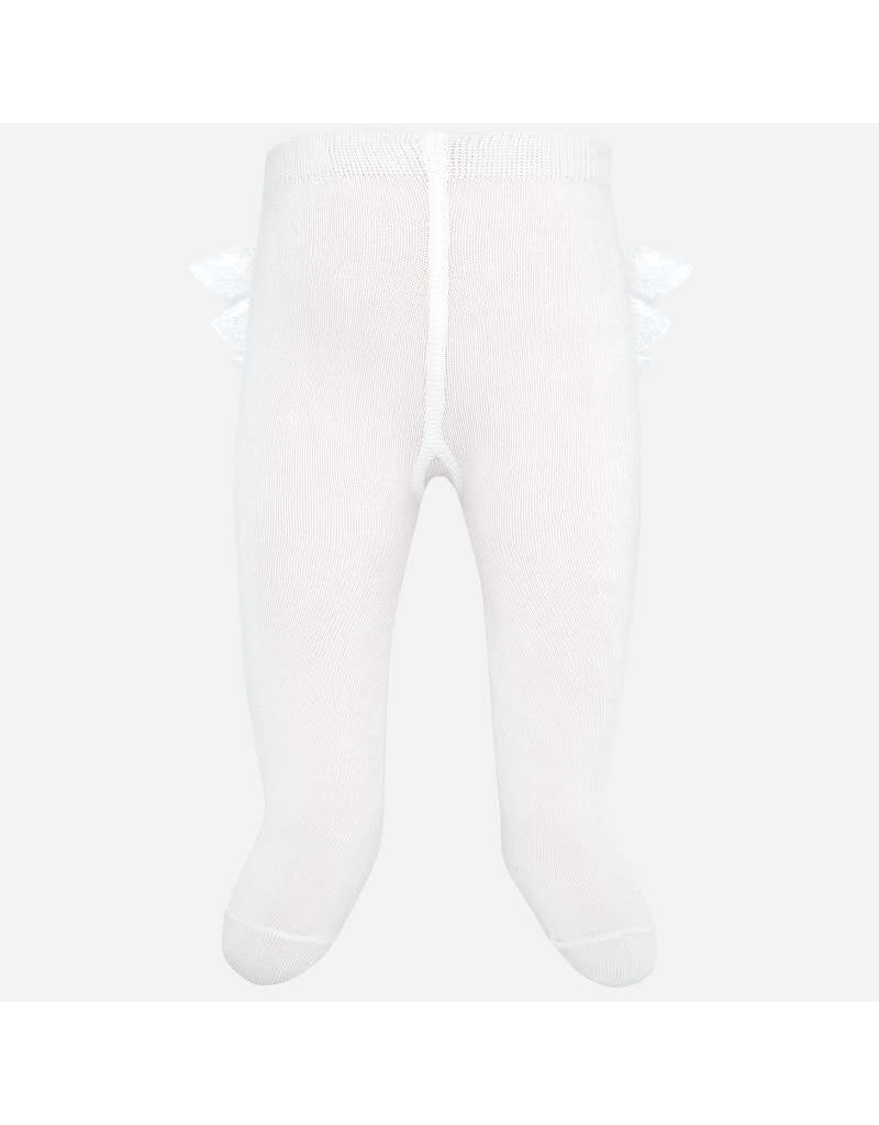 Mayoral Mayoral | Ruffled Baby Tights