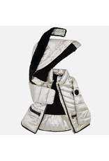 Mayoral Mayoral  Silver Puffer Coat