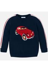 Mayoral Mayoral |Car Motif Sweater