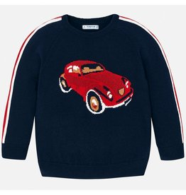 Mayoral Mayoral | Car Motif Sweater