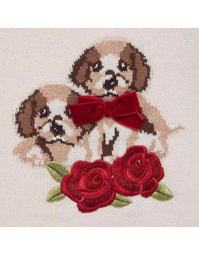 Mayoral Mayoral | Beige Dog Sweater