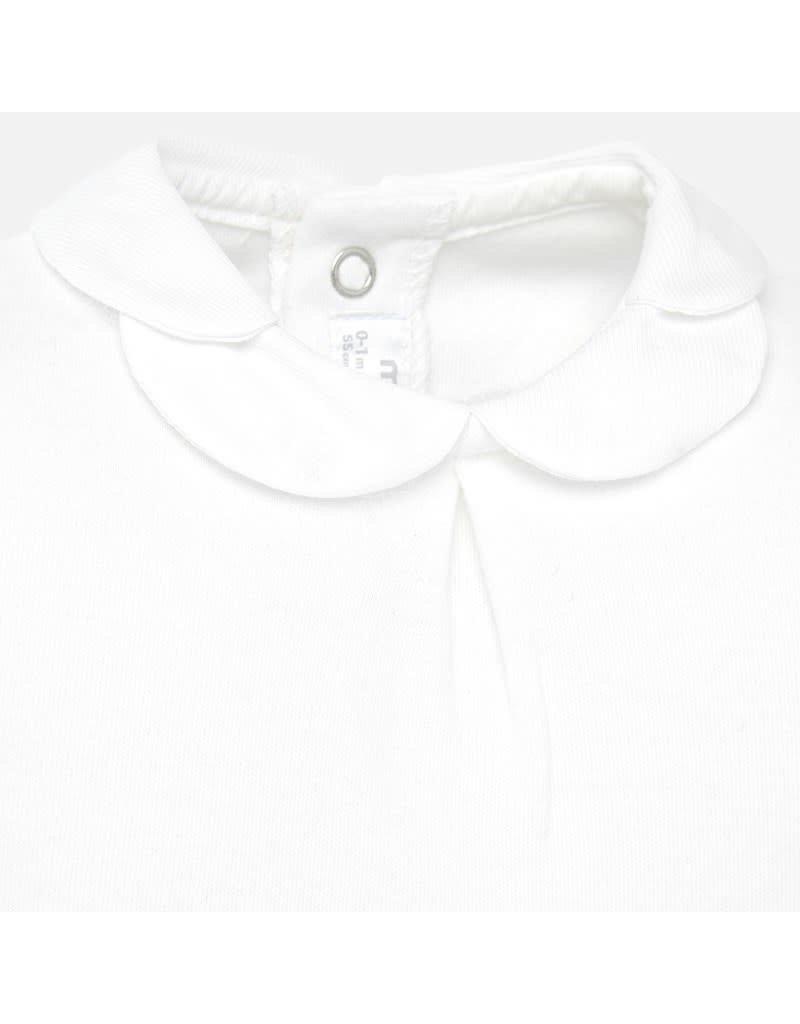 Mayoral Mayoral |Peter Pan Collar Bodysuit