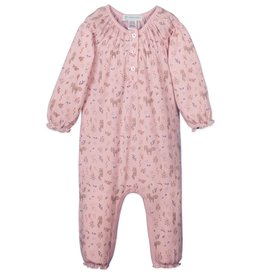 Feather Baby | Foxes & Bunnies Ruched Romper