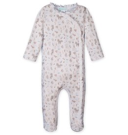 Feather Baby | Foxes & Bunnies Kimono Footie