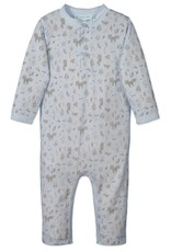 Feather Baby | Foxes & Bunnies Henley Romper