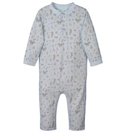 Feather Baby   Foxes & Bunnies Henley Romper