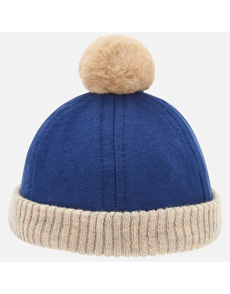 Mayoral Mayoral | Pom Baby Hat in Dune