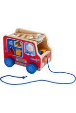 haba Haba | Fire Engine Pulling Figure