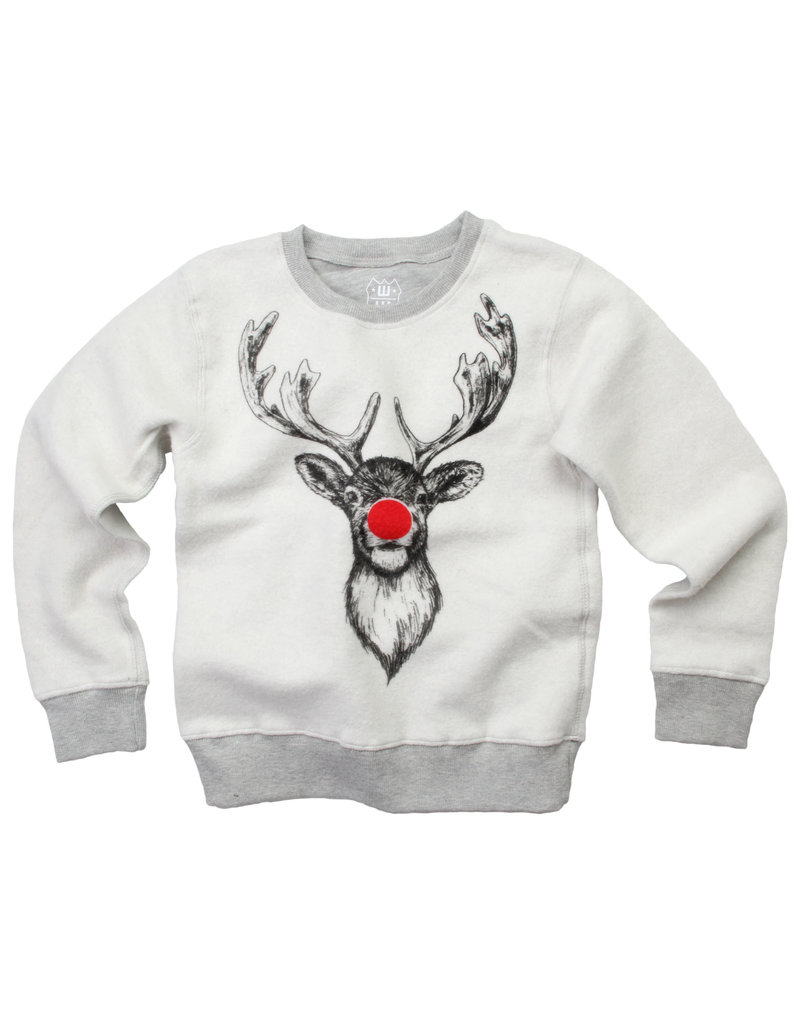Wes & Willy| Reversible Reindeer Pullover