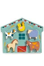 Djeco Djeco | Mowy Farm Puzzle