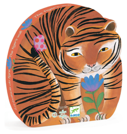 Djeco Djeco | The Tiger's Walk 24pc Puzzle