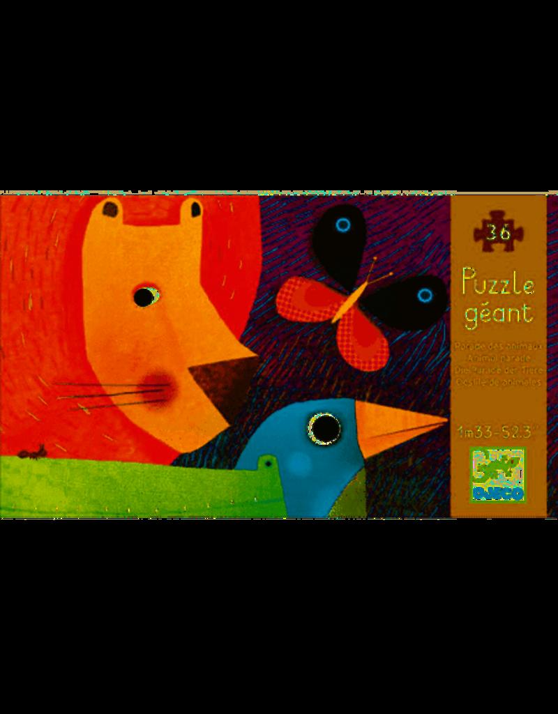 Djeco Djeco | Animal Parade 36pc Floor Puzzle