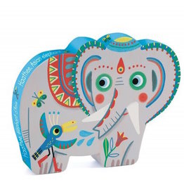 Djeco Djeco | Haathee, Asian Elephant 24pc Puzzle