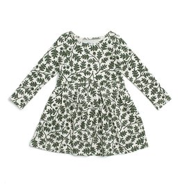 Winter Water Factory Winter Water Factory | Oak Leaves Madison Dress