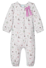 Feather Baby |Dinosaurs Bow Romper