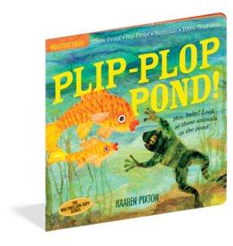 Workman Publishing Indestructibles | Plip Plop Pond