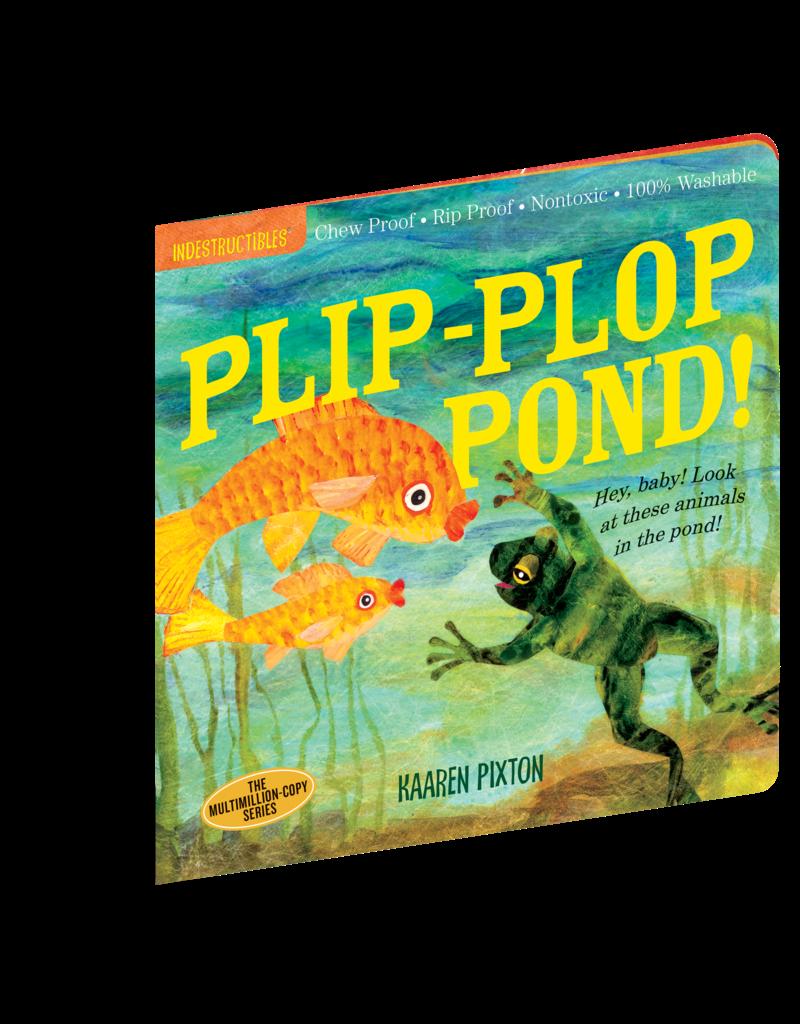 Workman Publishing Indestructibles Plip Plop Pond