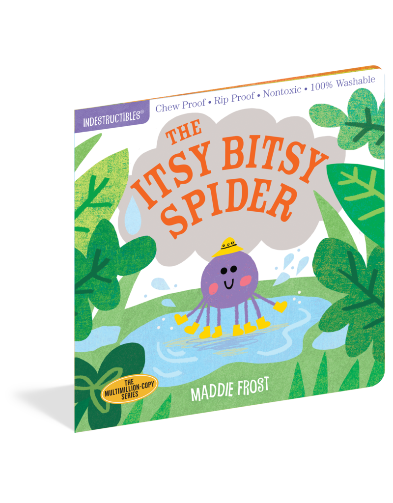 Workman Publishing Indestructibles Itsy Bitsy Spider