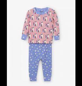 Hatley Hatley | Patchwork Kitty Organic Baby Pajamas