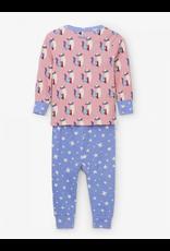 Hatley Hatley   Patchwork Kitty Organic Baby Pajamas