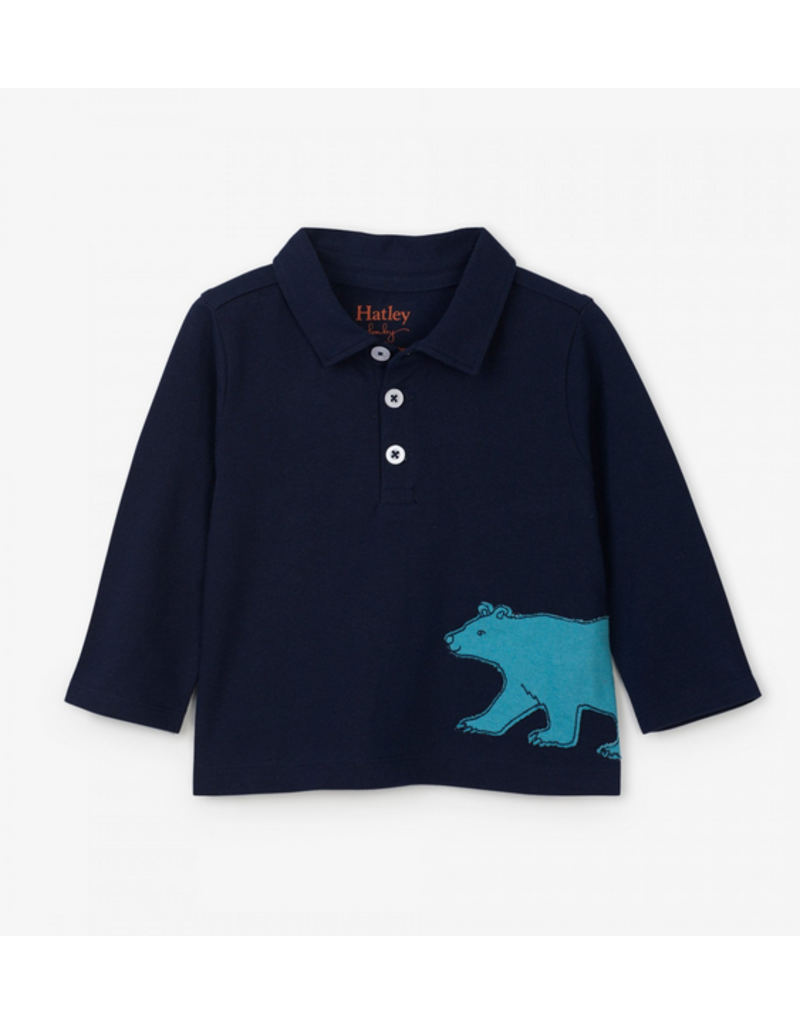 Hatley Hatley |Bear Baby Polo