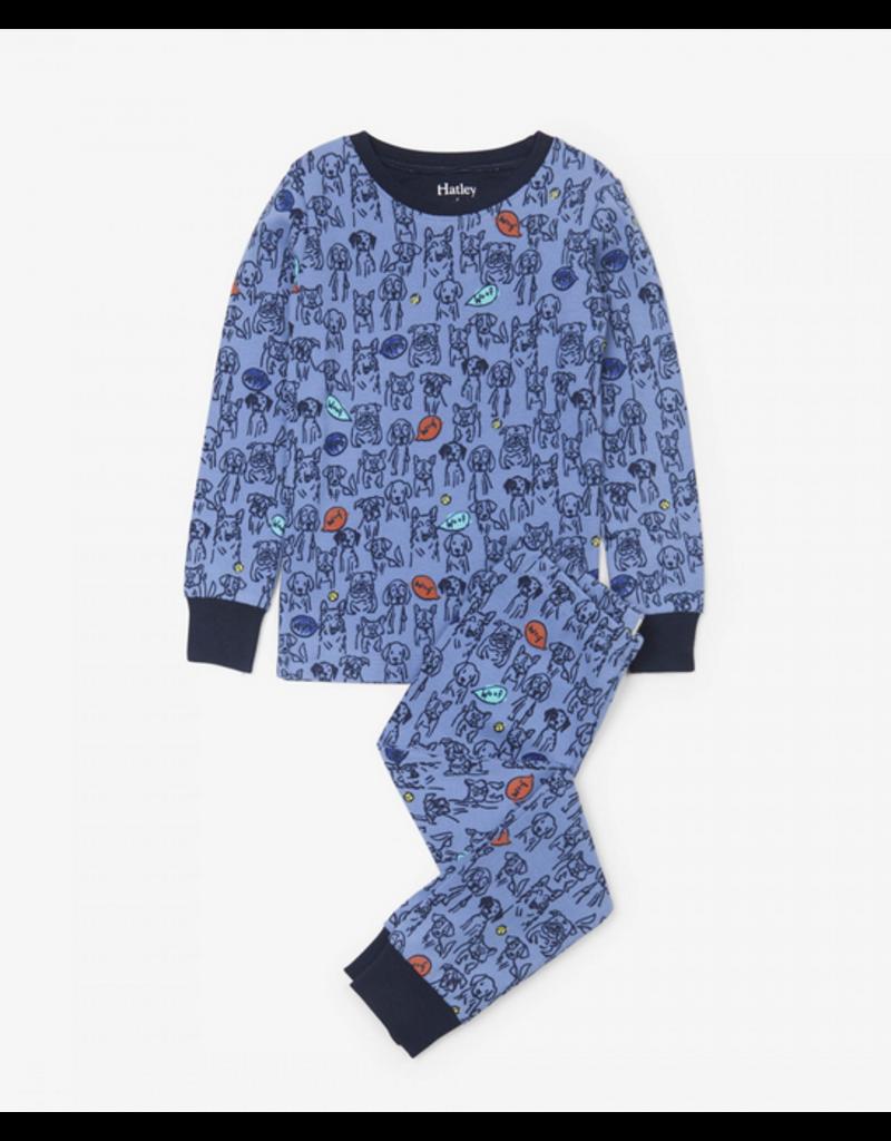 Hatley Hatley |Puppy Pals Organic Pajama Set
