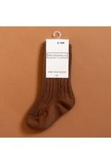 Little Stocking Co. Knee High Socks in Chocolate