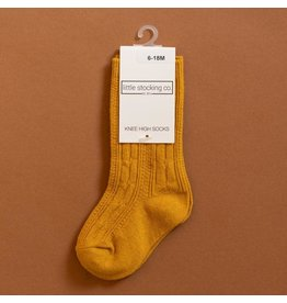 Little Stocking Co. Knee High Socks in Golden Yellow