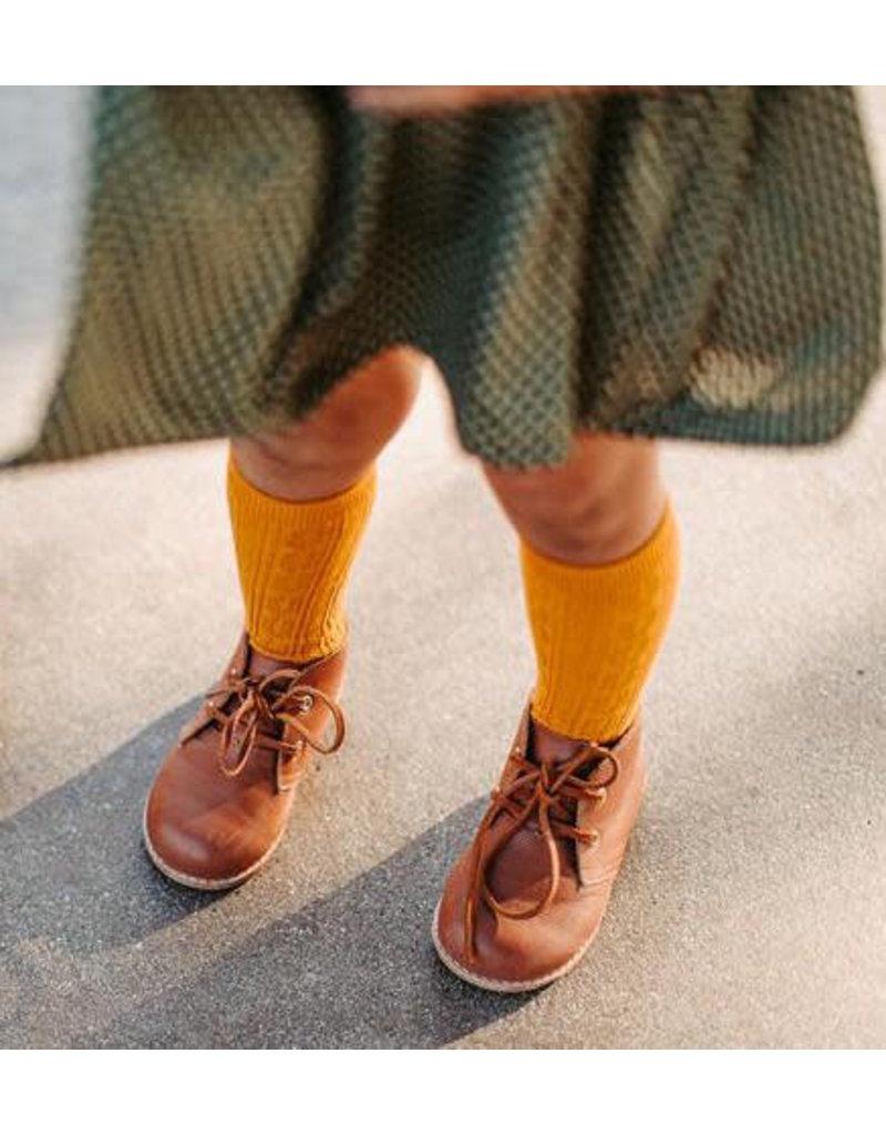 Little Stocking Co. Knee High Socks in Golden Yellow