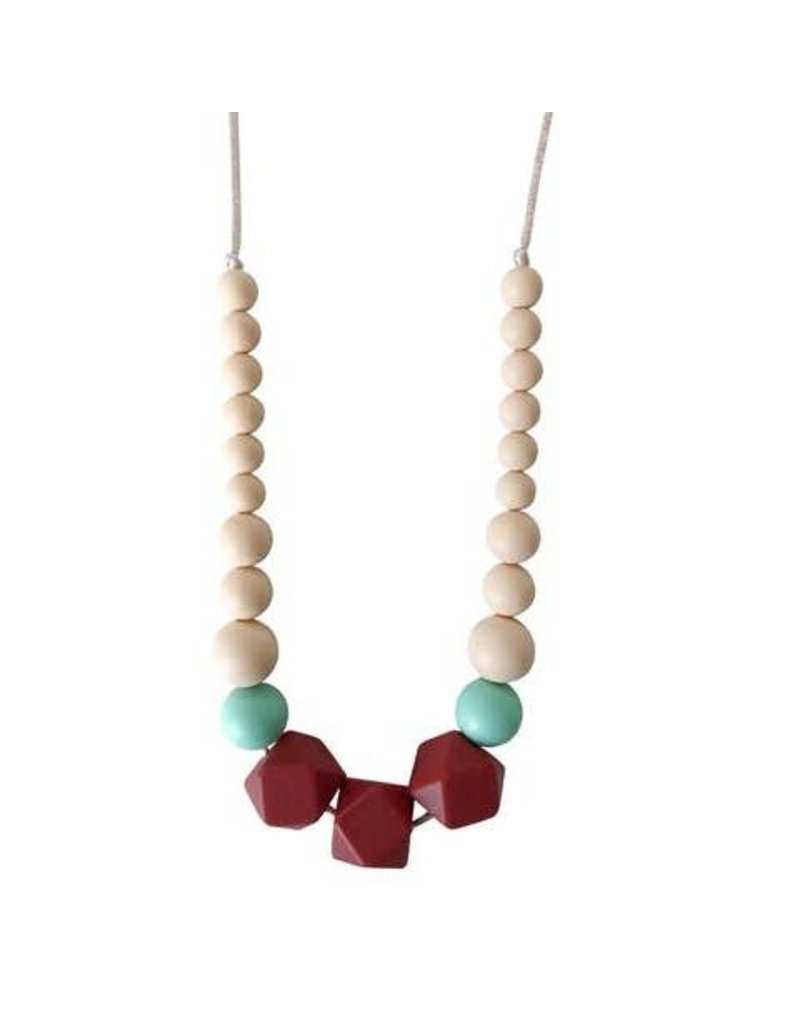 Chewable Charms Necklace | Lacey Marsala