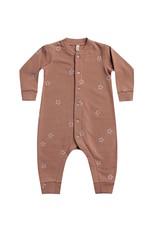 Quincy Mae|Fleece Jumpsuit in Clay