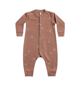 Quincy Mae | Fleece Jumpsuit in Clay