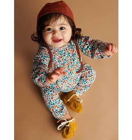 Tea Collection Tea Collection | Smocked Romper in Sunrise Floral