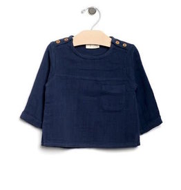 City Mouse City Mouse | Muslin Mr. Top in Midnight Blue