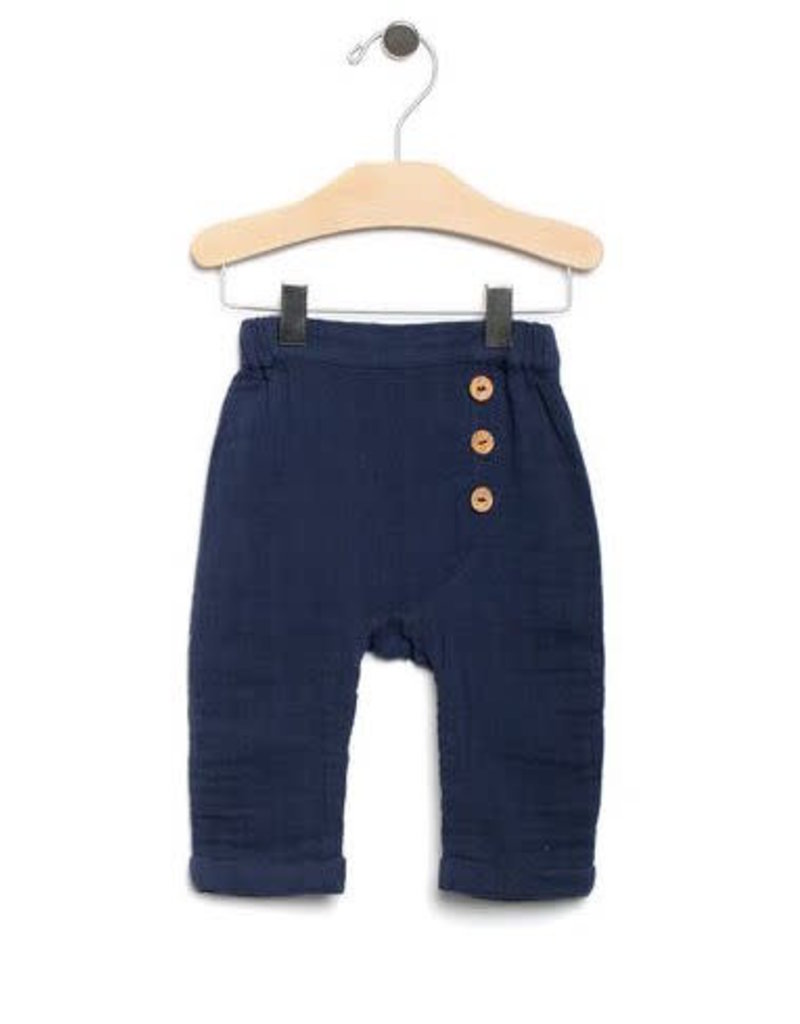 City Mouse City Mouse | Muslin Mr. Pant in Midnight Blue