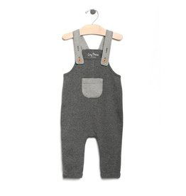 City Mouse City Mouse | Melange Overalls in Iron
