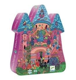 Djeco Djeco | The Fairy Castle 54pc Puzzle