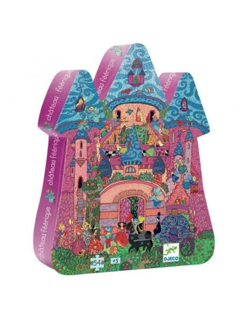 Djeco Djeco   The Fairy Castle 54pc Puzzle