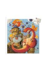 Djeco Djeco | Vaillant & Dragon 54pc Puzzle