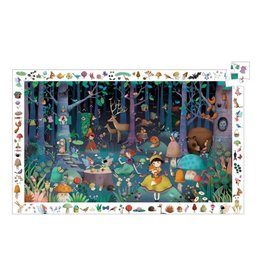 Djeco Djeco | Enchanted Forest Observation Puzzle