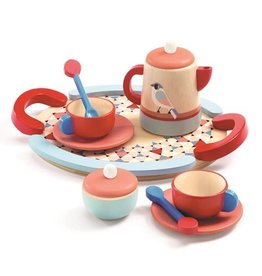 Djeco Djeco | Wooden Tea Time Set