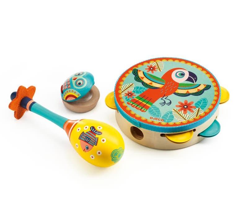 Djeco Djeco   Animambo Tambourine Set