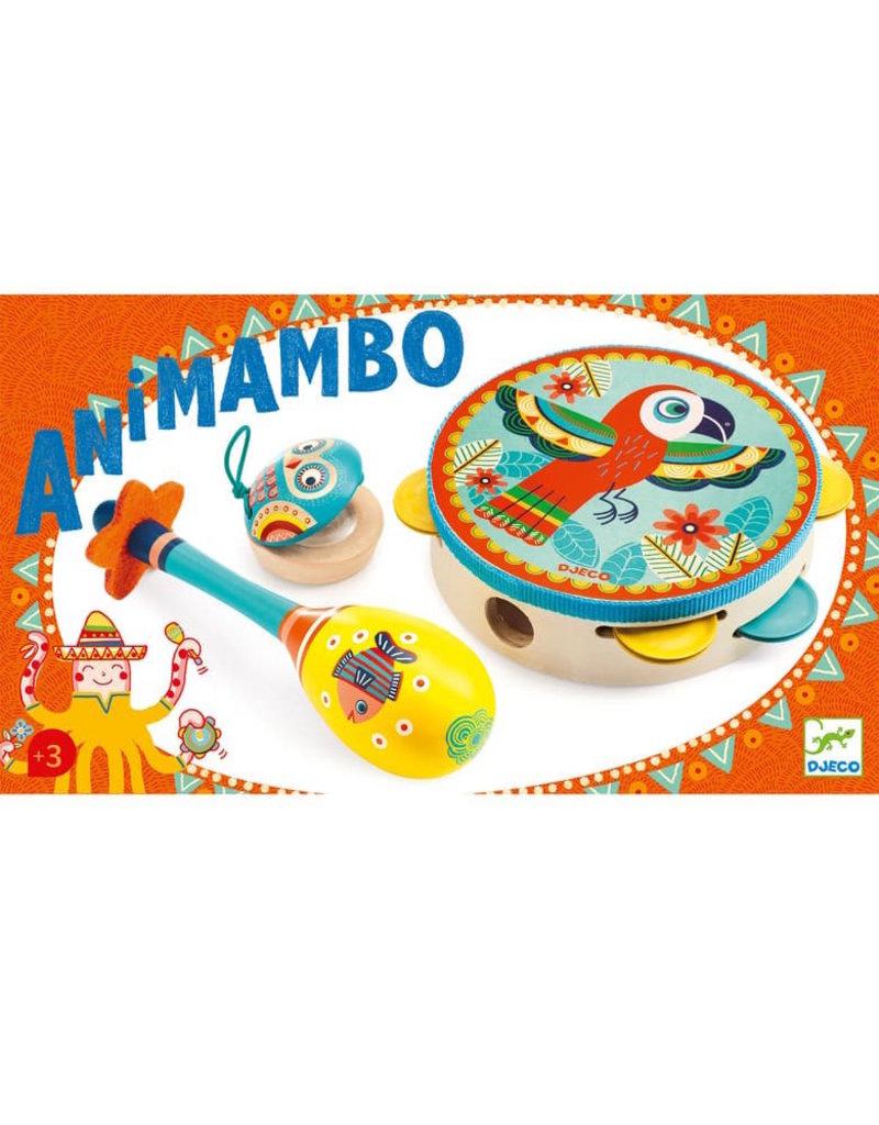 Djeco Djeco | Animambo Tambourine Set
