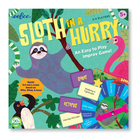 eeBoo Eeboo | Sloth in a Hurry Action Game