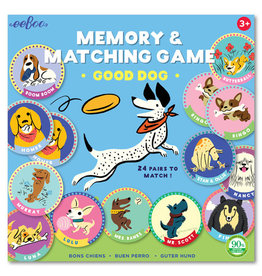 eeBoo eeboo | Good Dog Memory Matching Game