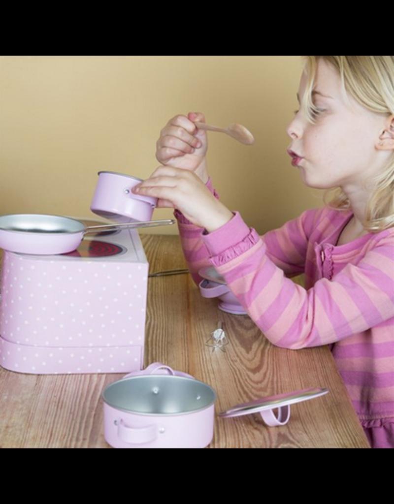 Sass & Belle Sass & Belle | Pastel Pink Play Cooking Set
